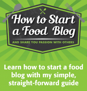 Learn how to start a food blog