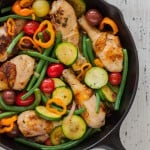 Rustic Herbed Skillet Chicken and Vegetables