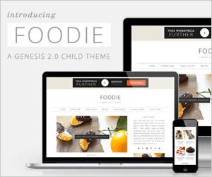 Foodie Theme