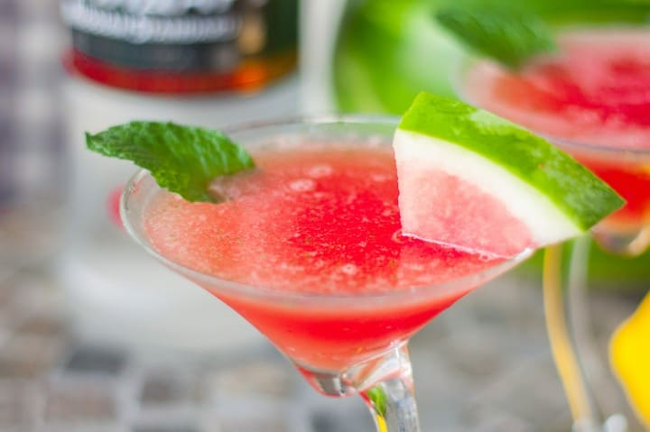 Watermelon Mint Martini - www.platingpixels.com