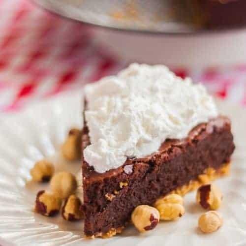 Nutella and Chocolate Fudge Cake