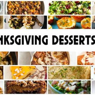Thanksgiving Recipe Roundup – 19 Yummy Desserts and Sides