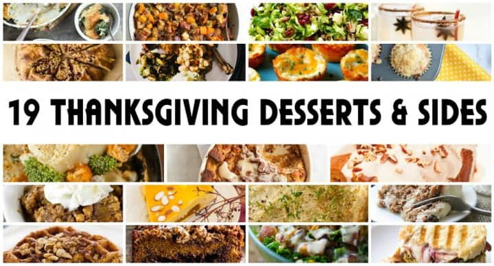Thanksgiving Recipe Roundup featured on www.PlatingPixels.com