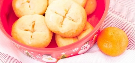Almond Tangerine Butter Cookies - www.platingpixels.com