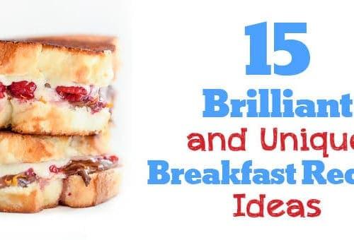 15 Brilliant Breakfast Recipes Roundup - www.platingpixels.com