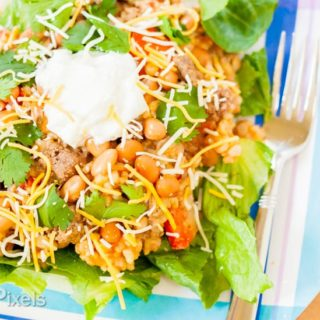 Mexican Bean and Rice Casserole Salad