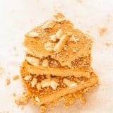 Peanut Butter Honey Pretzel Butterscotch Bars - www.platingpixels.com