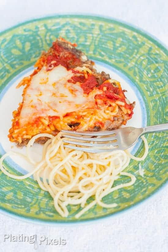 Spaghetti Pie - www.platingpixels.com