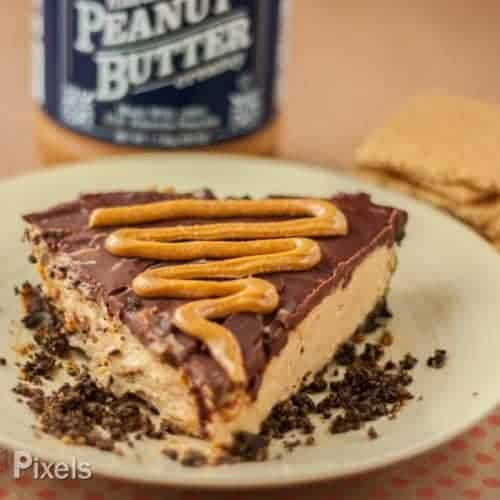 Fudgy Chocolate Peanut Butter Cheesecake