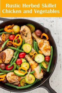 Rustic-Herbed-Skillet Chicken-and-Vegetables-thumb