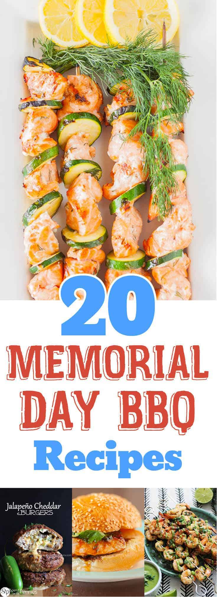 20 Ideas for Your Memorial Day Barbecue - Recipe Roundup by www.platingpixels.com