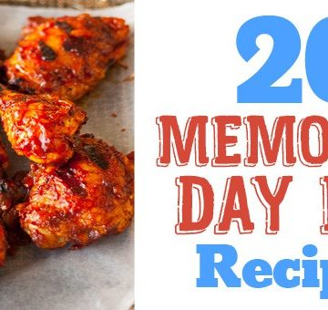 "20 Memorial Day Barbecue recipes. A list of perfect grilled and barbecue recipes to go with your Memorial Day party. Chicken, ribs, burgers, shrimp salmon, pizza, salads, sides, and even a mint martini for extra fun. Memorial Day seems like the official start of summer. What better way to celebrate than a barbecue with friends and family. I'm usually at the grill or camping, or both. I hope you find some favorite barbecue recipes to wow your guests. Are you following me on Pinterest, Facebook, Twitter and Instagram? Also sign up for our newsletter to get all our recipes and cooking tips. 20 Memorial Day Barbecue Recipes 20 Ideas for Your Memorial Day Barbecue - Recipe Roundup by www.platingpixels.com Avocado Pesto and Chicken Mexican Pizza | Recipe by Plating Pixels 20 Ideas for Your Memorial Day Barbecue - Recipe Roundup by www.platingpixels.com Balsamic Steak Skewers | Recipe by Julie's Eats & Treats 20 Ideas for Your Memorial Day Barbecue - Recipe Roundup by www.platingpixels.com Bacon BBQ Bourbon Kebabs | Recipe by Host the Toast Barbecue Chicken Kebabs with Peanut Lime Dipping Sauce - www.platingpixels.com Barbecue Cumin Chicken Kebabs with Peanut Lime Dipping Sauce | Recipe by Plating Pixels 20 Ideas for Your Memorial Day Barbecue - Recipe Roundup by www.platingpixels.com BBQ Bacon Cheeseburger Meatloaf | Recipe by Eazy Peazy Mealz 20 Ideas for Your Memorial Day Barbecue - Recipe Roundup by www.platingpixels.com Cilantro Lime Grilled Shrimp + Roasted Poblano Sauce | Recipe by Creme de la Crumb [sociallocker][/sociallocker] 20 Ideas for Your Memorial Day Barbecue - Recipe Roundup by www.platingpixels.com Ginger Garlic Teriyaki Mushrooms Skewers | Recipe by Plating Pixels [shareaholic app=""share_buttons"" id=""16310286""] 20 Ideas for Your Memorial Day Barbecue - Recipe Roundup by www.platingpixels.com Greek Chicken Kebabs with Tzatziki Sauce 