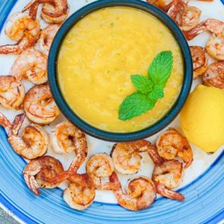 Mango Lime Dipping Sauce