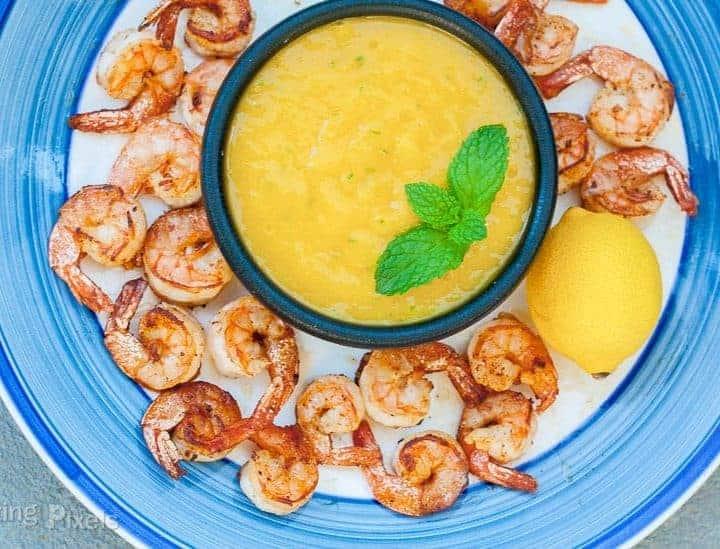 Mango Lime Dipping Sauce - www.platingpixels.com