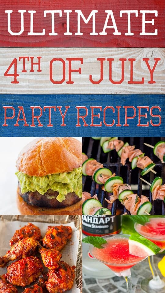 Ultimate 4th of July Party Menu Recipes - www.platingpixels.com