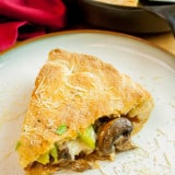 Restaurant Style Skillet Calzone recipe - www.platingpixels.com