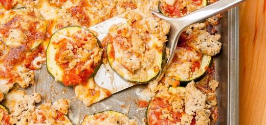 Turkey and Zucchini Spaghetti Nachos recipe - www.platingpixels.com