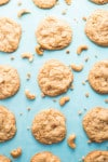 Chewy Cashew Toffee Cookies recipe - www.platingpixels.com