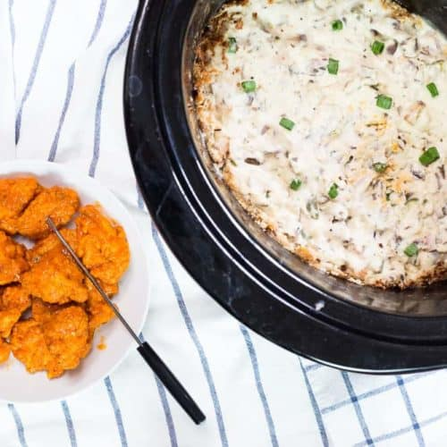Slow Cooker Blue Cheese Dipping Sauce