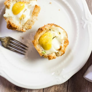 Sourdough Ham and Egg Muffin Cups
