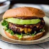 Ultimate Honey BBQ Bacon Burger recipe - www.platingpixels.com
