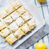 Pineapple Lemon Bars recipe - www.platingpixels.com