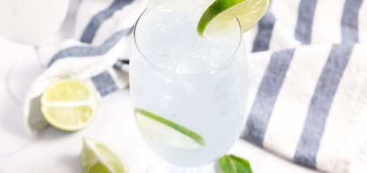 Cucumber Mint Mojito Mocktail - www.platingpixels.com