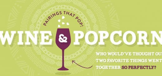 Wine and Popcorn Pairing Infographic - www.platingpixels.com