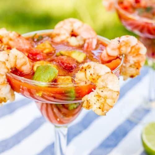 Mexican Shrimp Cocktail (Coctel de Camaron)