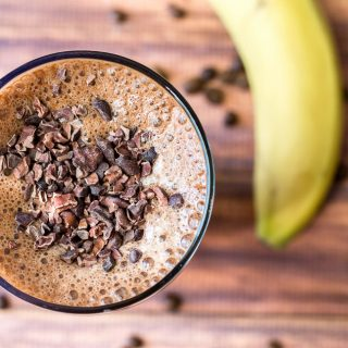 Chocolate Banana Mocha Smoothie
