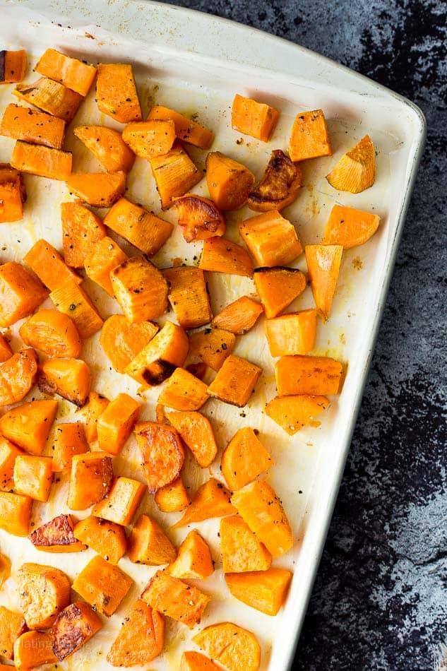 Slow Cooker Sweet Potato Carnitas Bowls recipe - www.platingpixels.com