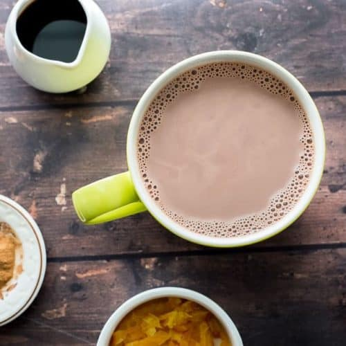 Homemade Hot Chocolate with Mix-ins