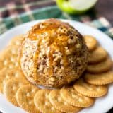 Caramel Apple Cheese Ball recipe - www.platingpixels.com