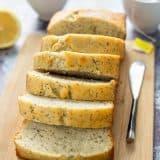 Chamomile Lemon Poppy Seed Breakfast Bread recipe - www.platinpixels.com