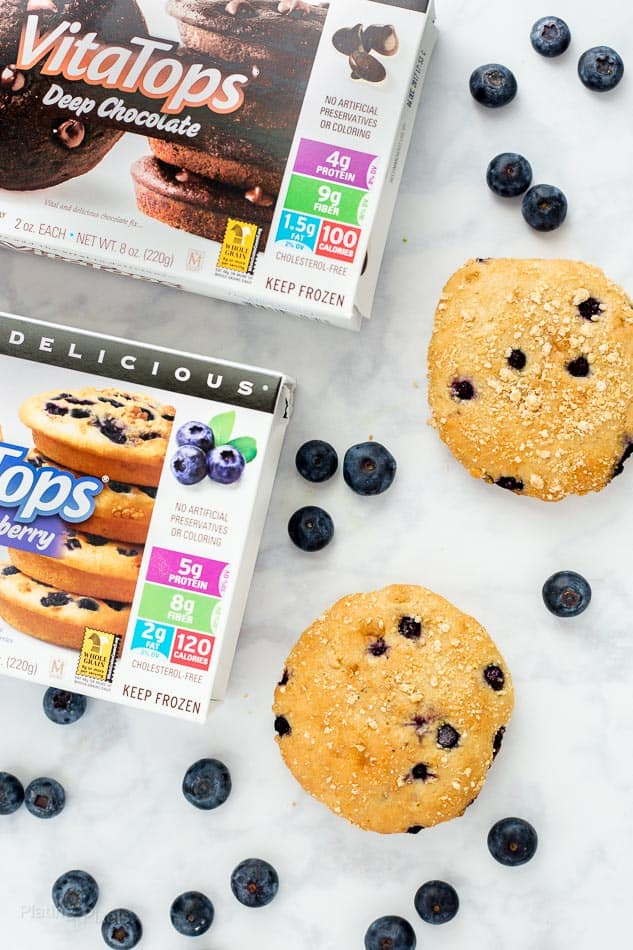 VitaTops Muffins - Easy Grab and Go Muffin Snacks