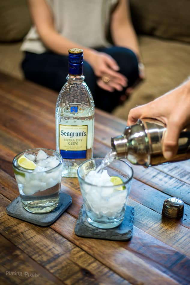 Good Times with Seagram's Gin and Tonic