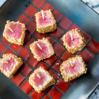 Sesame Seared Ahi Tuna Bites