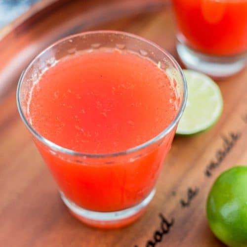 Homemade Clamato Michelada recipe - www.platingpixels.com