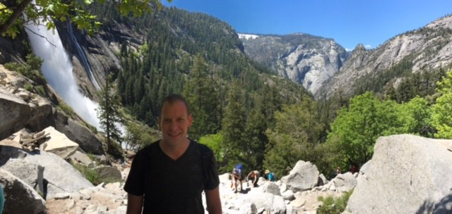 Yosemite Park Nevada Falls