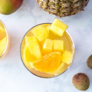 Tropical Passion Fruit Sangria