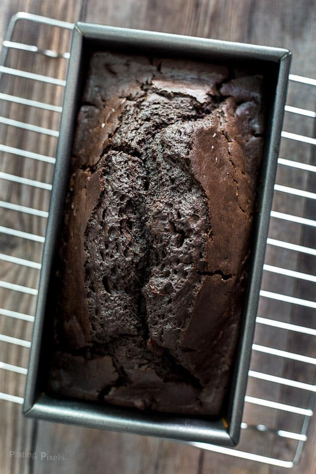 Dark Chocolate Mocha Breakfast Bread recipe - www.platingpixels.com
