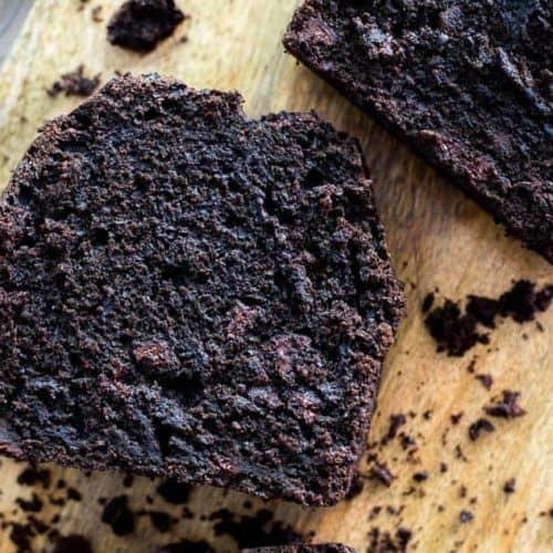 Dark Chocolate Mocha Breakfast Bread recipe - www.platingpixels.com