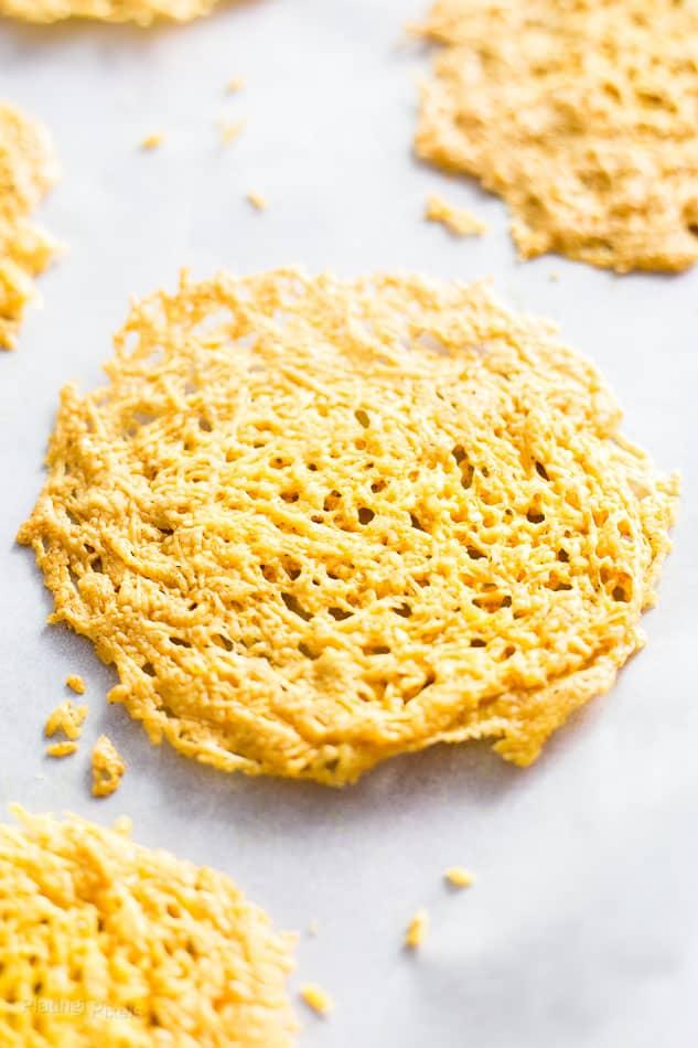 Curried Parmesan Crisps recipe - www.platingpixels.com