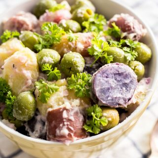 Fingerling Potato Salad with Green Olives