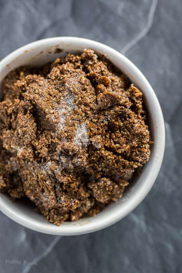 Edible Gingerbread Cookie Dough (no flour) recipe - platingpixels.com