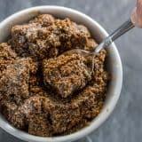 Edible Gingerbread Cookie Dough (no flour) recipe - platingpixels.com