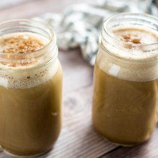 Homemade Caramel Pumpkin Spice Latte