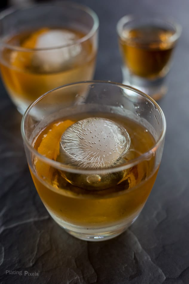 Old Fashioned Cocktail With Simple Syrup