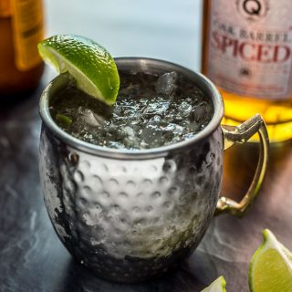 Spiced Caribbean Mule (Moscow Mule with Rum)
