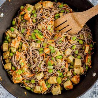 Vegan Coconut Curry Tofu Stir-Fry